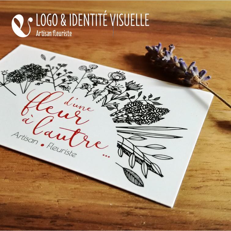 Identit Visuelle Et Cartes De Visite Pour Fleuriste Inspire